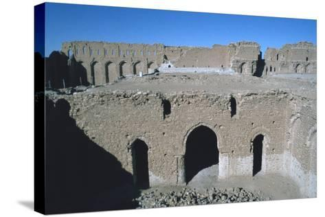Fortress of Al Ukhaidir, Iraq, 1977-Vivienne Sharp-Stretched Canvas Print