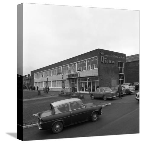 A Ford Anglia Outside Asda (Queens) Supermarket, Rotherham, South Yorkshire, 1969-Michael Walters-Stretched Canvas Print