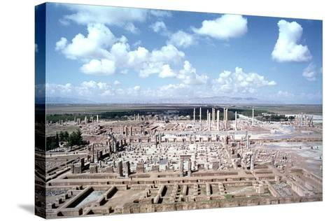 Panorama of the Ruins of Persepolis, Iran-Vivienne Sharp-Stretched Canvas Print