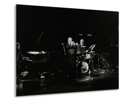 The Terry Lightfoot Band in Concert at Oakmere House, Potters Bar, Hertfordshire, 7 October 1986-Denis Williams-Metal Print