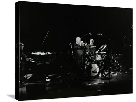 The Terry Lightfoot Band in Concert at Oakmere House, Potters Bar, Hertfordshire, 7 October 1986-Denis Williams-Stretched Canvas Print