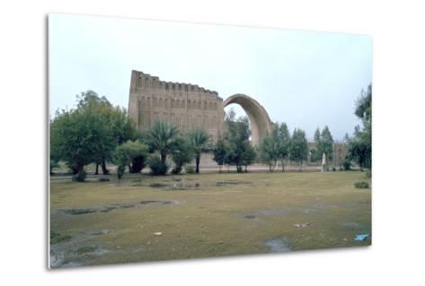 Sassanian Arch, Ctesiphon, Iraq, 1977-Vivienne Sharp-Metal Print
