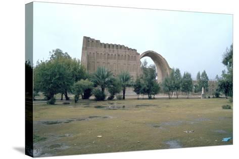 Sassanian Arch, Ctesiphon, Iraq, 1977-Vivienne Sharp-Stretched Canvas Print