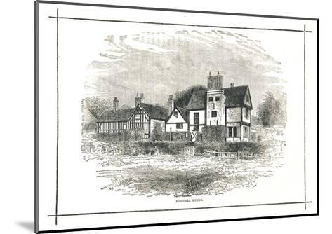 Boscobel House, Shropshire, 1893--Mounted Giclee Print