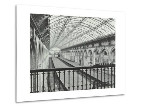 Crystal Palace Station, Crystal Palace Parade, Bromley, London, 1955--Metal Print