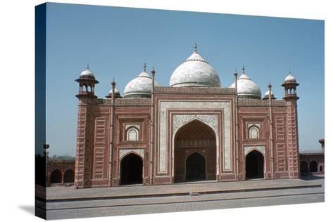 Taj Mahal Mosque, Agra, India-Vivienne Sharp-Stretched Canvas Print