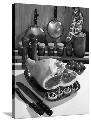 Danish Bacon Gammon Joint with Spice Jars, 1963-Michael Walters-Stretched Canvas Print