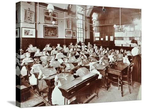 Class 5, Goodrich Road School, Camberwell, London, 1907--Stretched Canvas Print