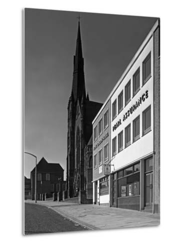 The Royal Insurance Building in Moorgate, Rotherham, South Yorkshire, 20 July 1962-Michael Walters-Metal Print