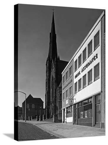 The Royal Insurance Building in Moorgate, Rotherham, South Yorkshire, 20 July 1962-Michael Walters-Stretched Canvas Print