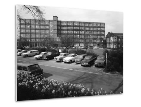 A Selection of 1960S Cars in a Car Park, York, North Yorkshire, May 1969-Michael Walters-Metal Print