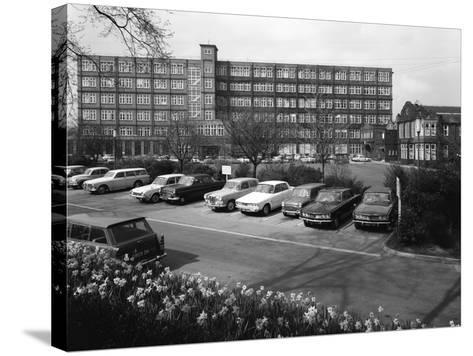 A Selection of 1960S Cars in a Car Park, York, North Yorkshire, May 1969-Michael Walters-Stretched Canvas Print