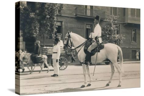 Egyptian Police, Cairo, Egypt, 1936--Stretched Canvas Print