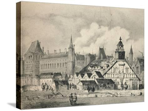 The Pompe De La Samaritaine in 1635, 1915--Stretched Canvas Print