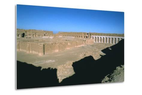 Fortress of Al Ukhaidir, Iraq, 1977-Vivienne Sharp-Metal Print