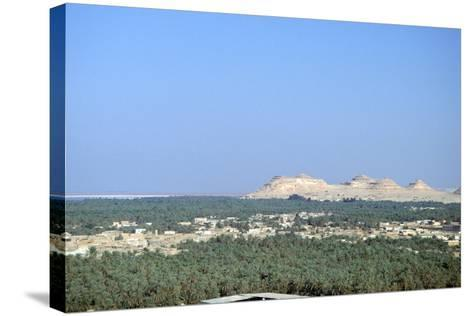 Jebel at Takrur from Siwa, Egypt-Vivienne Sharp-Stretched Canvas Print