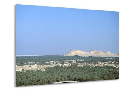 Jebel at Takrur from Siwa, Egypt-Vivienne Sharp-Metal Print