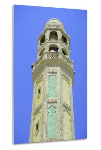 Minaret, Tozeur, Tunisia-Vivienne Sharp-Metal Print