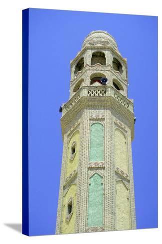 Minaret, Tozeur, Tunisia-Vivienne Sharp-Stretched Canvas Print