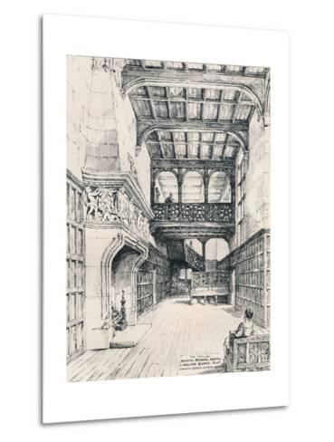 The Hall of North Mymms, Herts, 1898--Metal Print