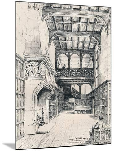 The Hall of North Mymms, Herts, 1898--Mounted Giclee Print