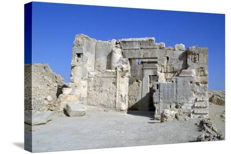Temple of the Oracle, Siwa, Egypt-Vivienne Sharp-Stretched Canvas Print