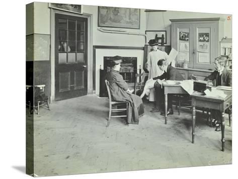 Medical Examination, Holland Street School, London, 1911--Stretched Canvas Print
