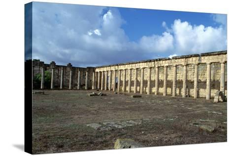 Forum, Cyrene, Libya-Vivienne Sharp-Stretched Canvas Print