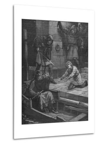 Murder of Prince Arthur, 1203--Metal Print