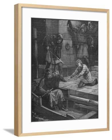 Murder of Prince Arthur, 1203--Framed Art Print