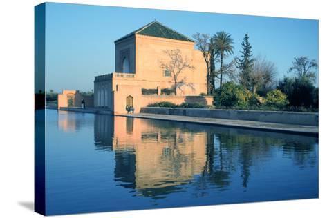 Menara Gardens, Marakesh, Morocco-Vivienne Sharp-Stretched Canvas Print