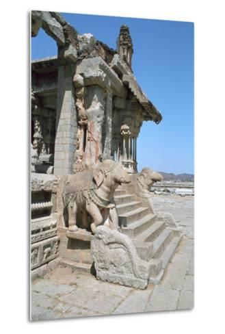 Vitthala Temple, Hampi, Karnataka, India-Vivienne Sharp-Metal Print
