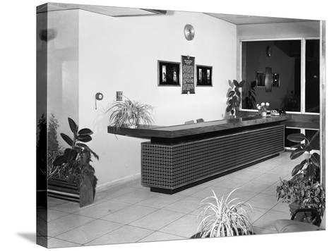 Newly Refurbished Reception, Park Gate Iron and Steel Co, Rotherham, South Yorkshire, 1966-Michael Walters-Stretched Canvas Print