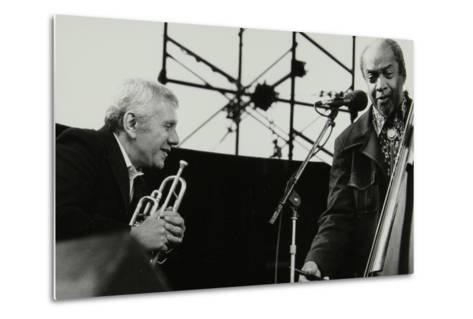 Ruby Braff and Slam Stewart at the Capital Jazz Festival, Alexandra Palace, London, July 1979-Denis Williams-Metal Print