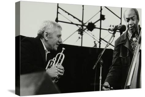 Ruby Braff and Slam Stewart on Stage at the Capital Radio Jazz Festival, London, 1979-Denis Williams-Stretched Canvas Print