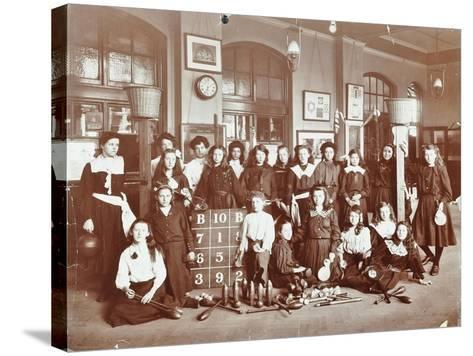 Girls Sports Club Members, Cromer Street School/Argyle School, St Pancras, London, 1906--Stretched Canvas Print