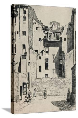 Impasse Du Boeuf, 1915-Otto J Schneider-Stretched Canvas Print