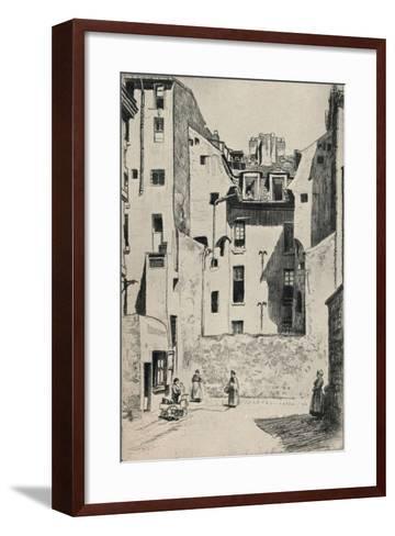 Impasse Du Boeuf, 1915-Otto J Schneider-Framed Art Print