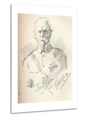 Field Marshal Lord Roberts of Kandahar (1832-1914), British Soldier, C1901-Mortimer Luddington Menpes-Metal Print