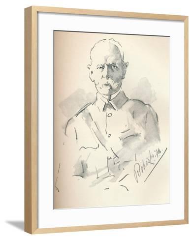 Field Marshal Lord Roberts of Kandahar (1832-1914), British Soldier, C1901-Mortimer Luddington Menpes-Framed Art Print