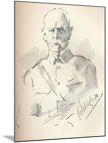 Field Marshal Lord Roberts of Kandahar (1832-1914), British Soldier, C1901-Mortimer Luddington Menpes-Mounted Giclee Print