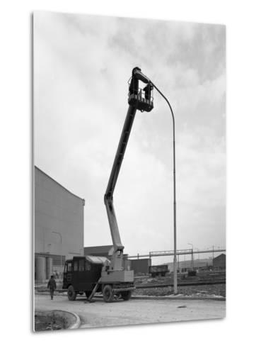 Simon Cherry Picker, Park Gate Iron and Steel Co, Rotherham, South Yorkshire, 1964-Michael Walters-Metal Print