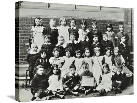 Infants School Class, London, C1900-C1915--Stretched Canvas Print