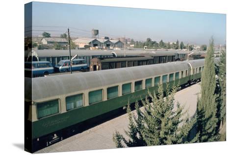 Railway Station Where Agatha Christie Arrived, Mosul, Iraq, 1977-Vivienne Sharp-Stretched Canvas Print