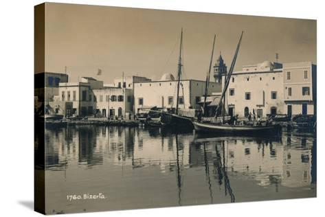 The Old Port of Bizerta, Tunisia, 1936--Stretched Canvas Print