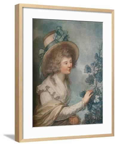 Autumn, C1947-1815, (1919)-Francesco Bartolozzi-Framed Art Print