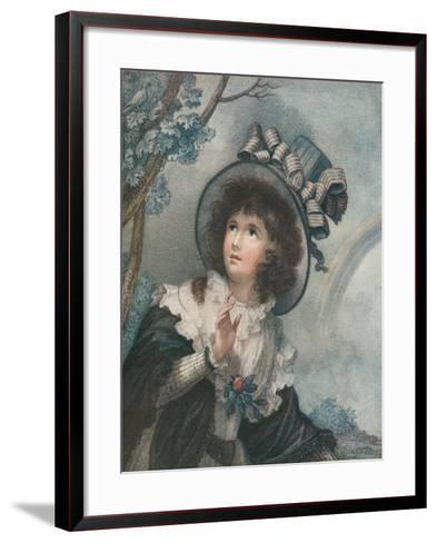 Spring, C1747-1815, (1919)-Francesco Bartolozzi-Framed Art Print