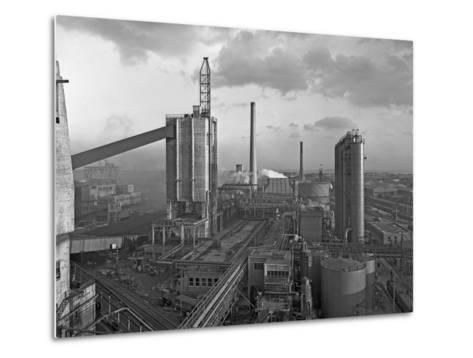 Manvers Coal Processing Plant, Wath Upon Dearne, Near Rotherham, South Yorkshire, February 1957-Michael Walters-Metal Print