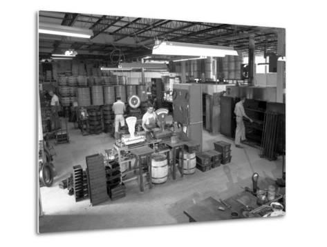 Jowitt and Rogers Factory, Philadelphia, Pennsylvania, Usa, 1963-Michael Walters-Metal Print