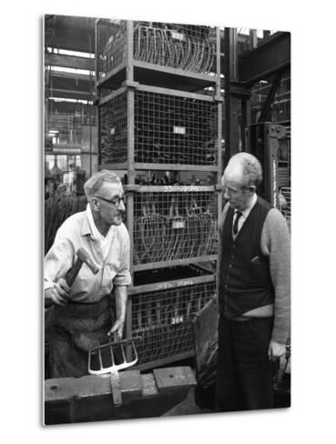 Garden Tool Production, Brades Tools, Sheffield, South Yorkshire, 1966-Michael Walters-Metal Print